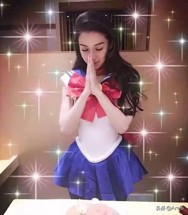 杨颖cos美少女战士,真是演出了精华