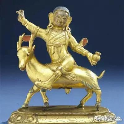 骑鹿罗汉像 加拿大皇家安大略博物馆藏