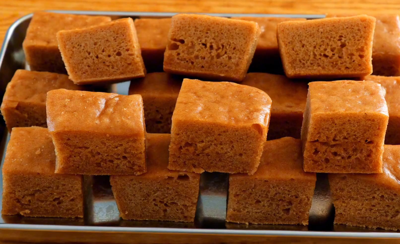 红糖马拉糕:广式风味配方,做法详细简单,软糯Q弹,比面包好吃