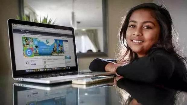 Anvitha Vijay,9岁时受邀参加2016WWDC(苹果开发者大会),当时最小的iOS平台APP开发者