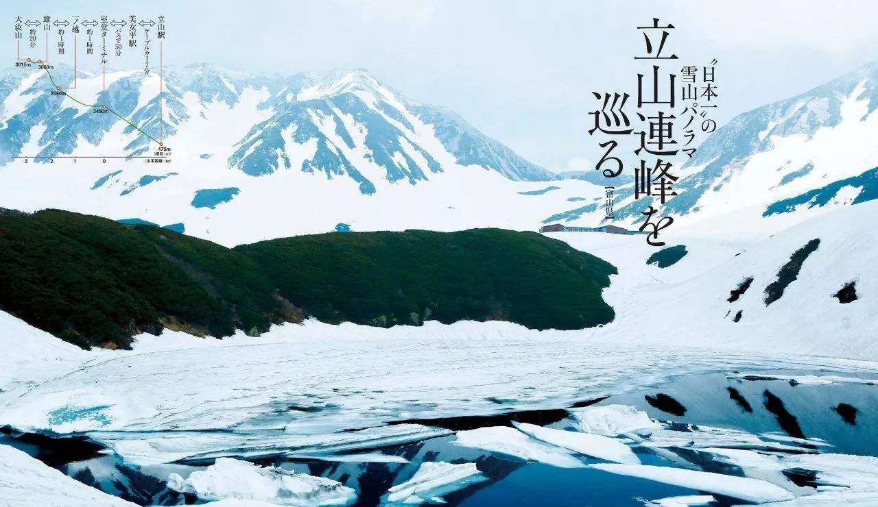 OP背景是富山县著名的立山连峰