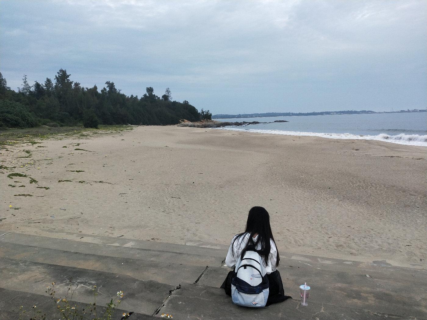 面朝大海,只想静静