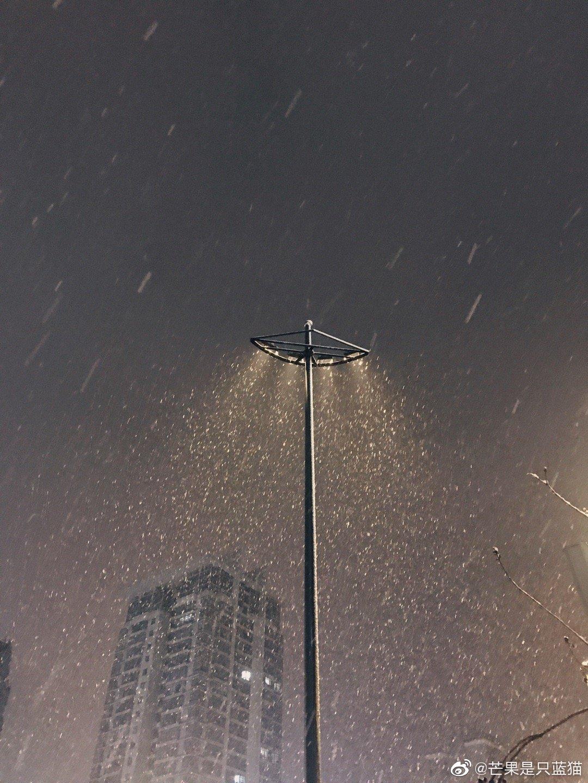 十二月底,杭州的一场大雪