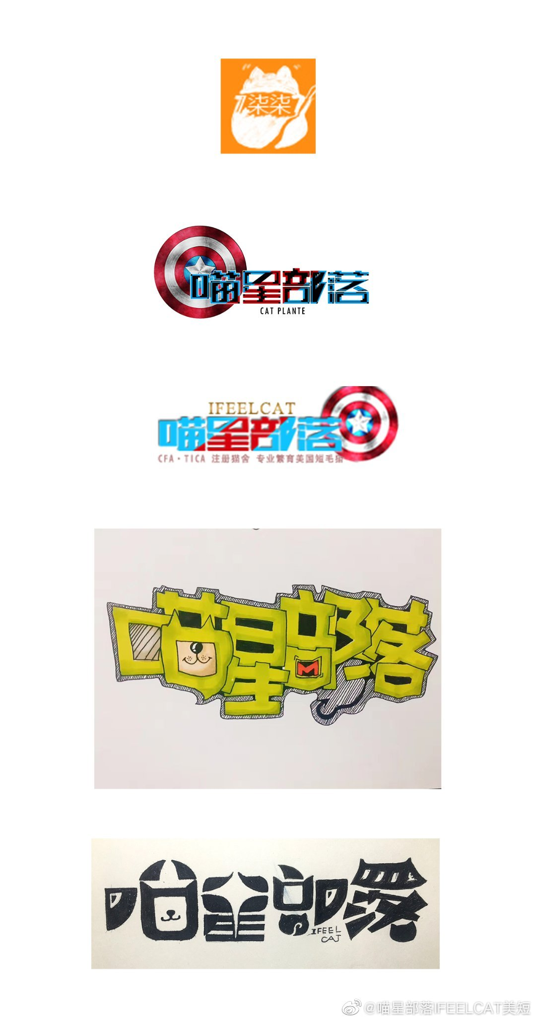 从2010年至今猫砂LOGO演变